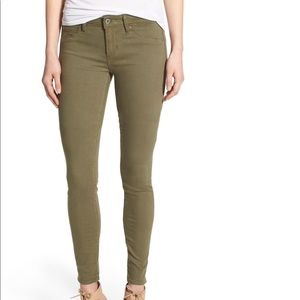 Articles of Society Mya Army Green Skinny Jeans